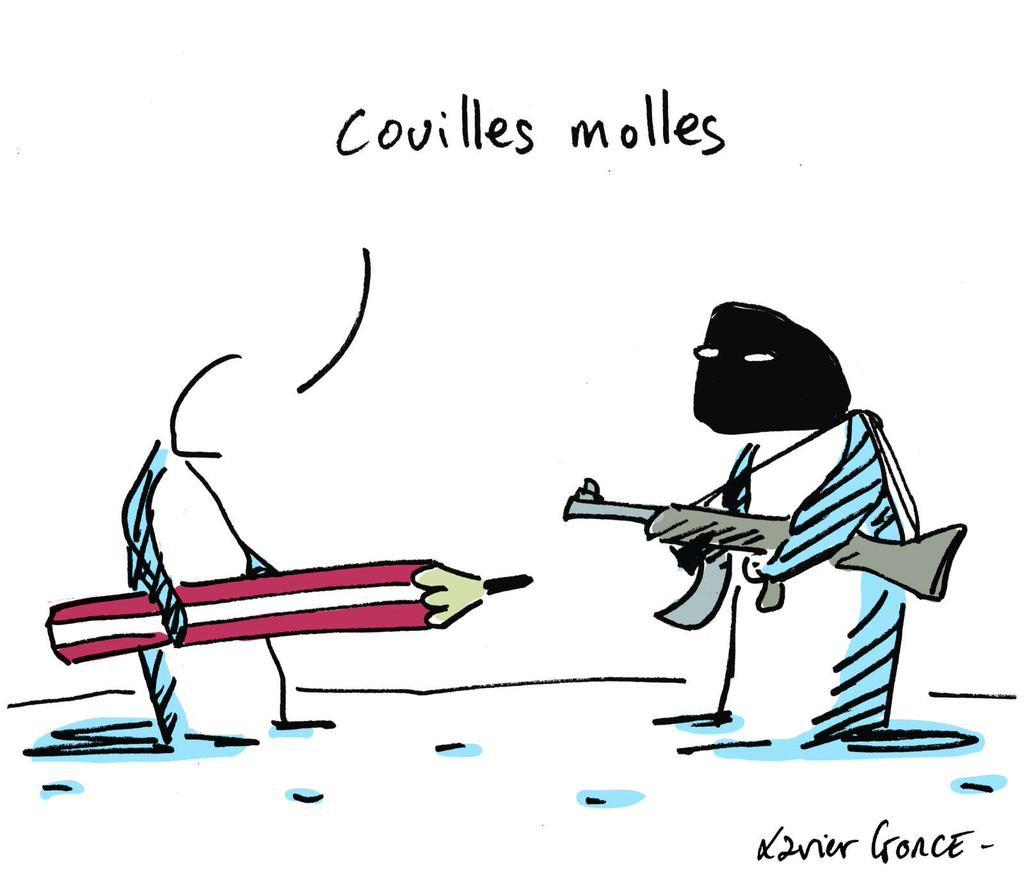 Hommage de Xavier Gorce