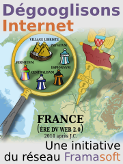 Campagne Framasoft : dégooglisons Internet